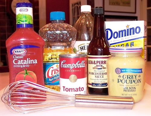 My Homemade French Salad Dressing #1 (Ingredients)