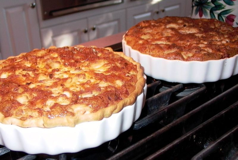 Creamy Crabmeat Quiche (the Swap to Croissant) #1