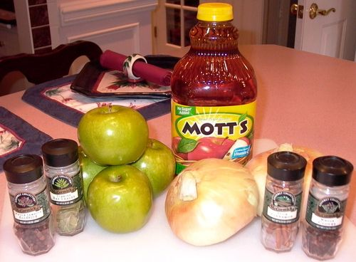 Apple-Braised Pork Pot Roast #1 (Ingredients)