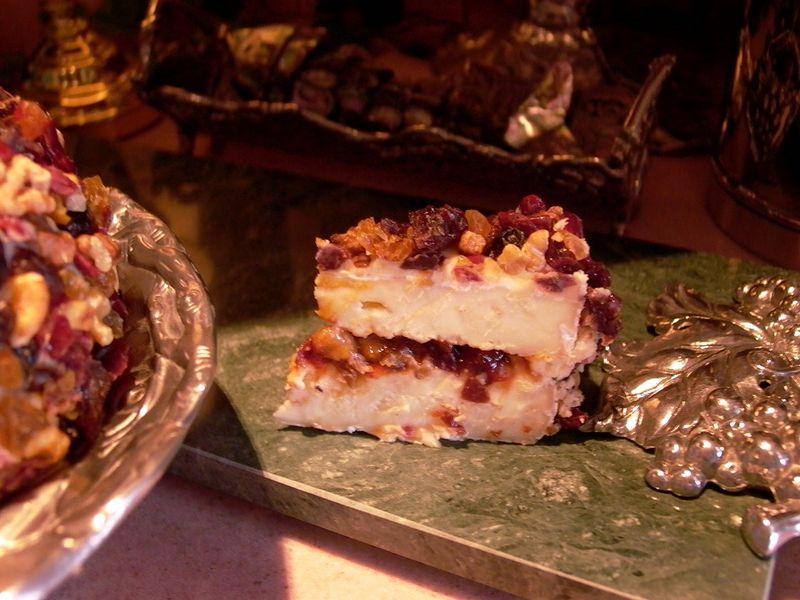 Bejeweled Brie Torte #11 (Sliced) #1)