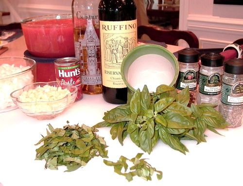 Marinara Sauce #9 (Ingredients Closeup)
