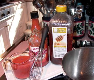 Chicken Thing-Wing Sauce #1 (Ingredients)