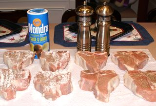 Braised Veal Chops #2 (Ingredients)