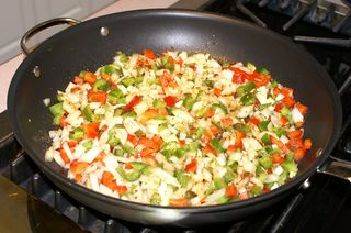 Hoevos Rancheros #11 (Vegetables Sauteed)