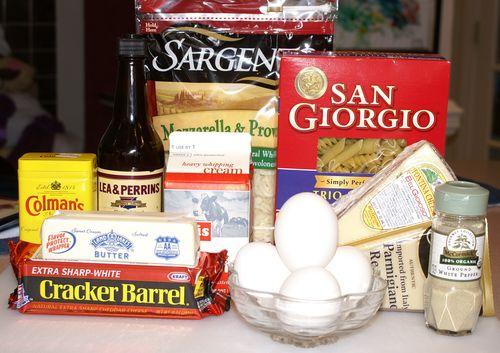 Macaroni & Cheese #2 (Ingredients)