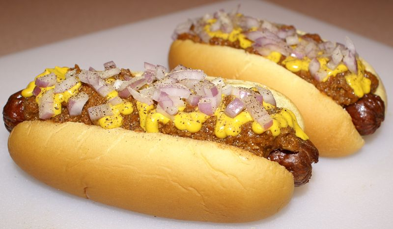 Texas Chili Dogs #1 ( 2 Dogs Intro Picture)