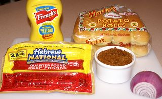 Texas Chili Dogs #14 (Hot Dog Ingredients)