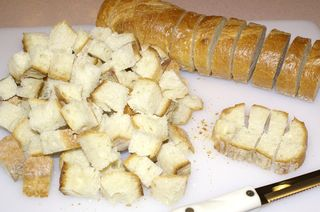 Croutons & Toasts #4 (Cubed Bread for Croutons)