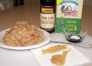 Chow Mein #5 (Sliced Chicken & Marinade Ingredients)
