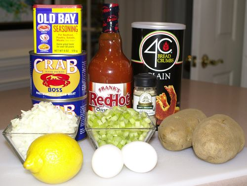 Crab Cakes #4 (Ingredients)