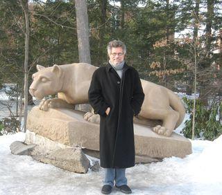 Steven Raichlen & Nittany Lion 2-11-11