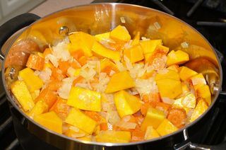 Moroccan Squash Soup #6 (Sauteed Squash & Carrots)