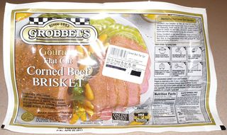 Corned Beef #5 (Picture of Corned Beef Package)