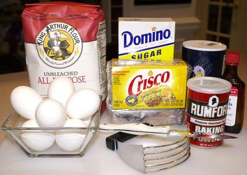 Theresa's Cookies #3 (Ingredients)