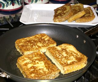 French Toast #8 (All Bread Frying)