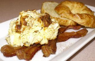 Creamy Crustless Crabmeat Quiche #1 (Intro Picture)