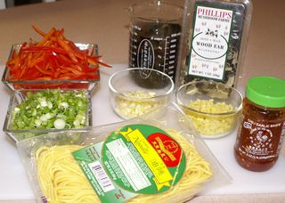 Chow Mein #11 (Fresh Ingredients for Stir-Fry)