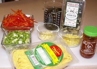 Chow Mein #11 (Fresh Ingredients for Stir-Fry)