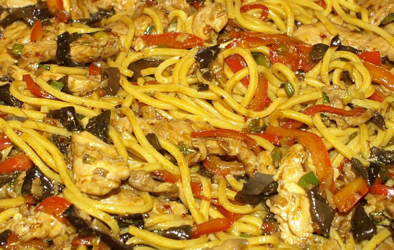 Chow Mein #25 (Finished Closeup)