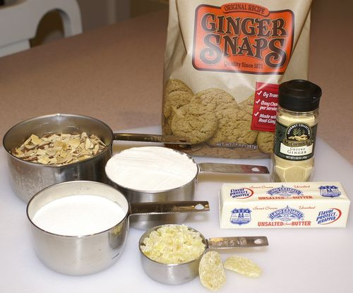 Warm Ginger-Berry Almond Crunch #2 (Dry Ingredients)