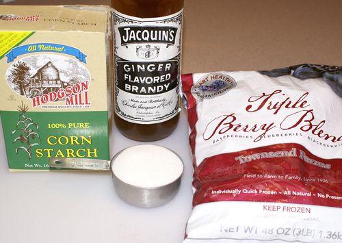 Warm Ginger-Berry Almond Crunch #5 (Wet Ingredients)