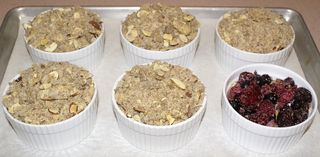 Warm Ginger-Berry Almond Crunch #9 (Topping On Berries)