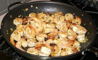 Scampi #10 (Shrimp Partially Cooked)
