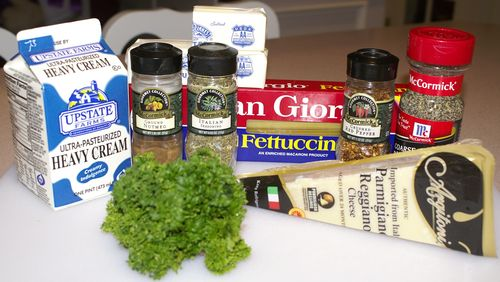 Fettuccine Alfredo #2 (Ingredients)