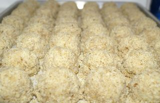 Crab Cakes #10 (Uncooked Tray)
