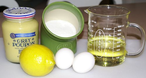 Mayonnaise #2 (Ingredients)