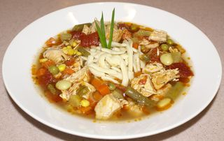 Ann's Chicken Vegetable Soup #2 (Full View)
