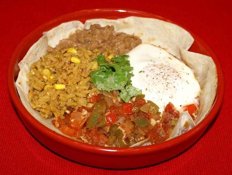 Huevos Rancheros #4 (Full Plate)