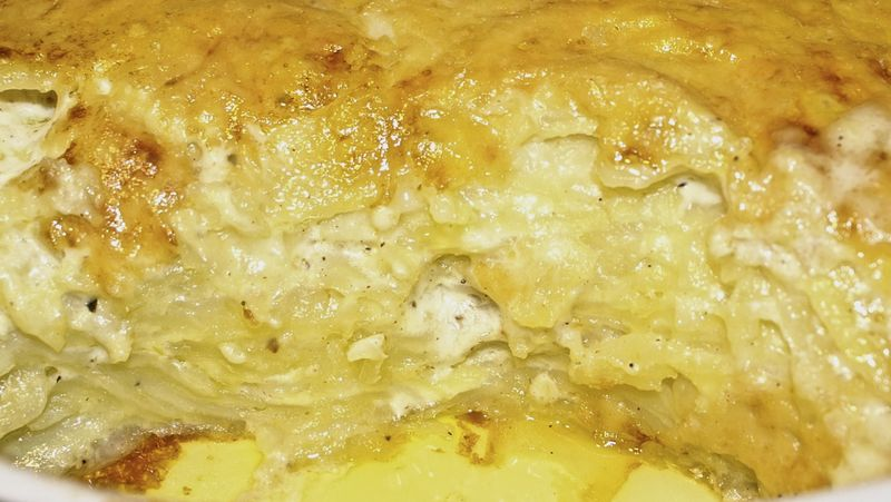 Perfect Potatoes Au Gratin (Scalloped Potatoes) : Recipe yields 12-16 ...
