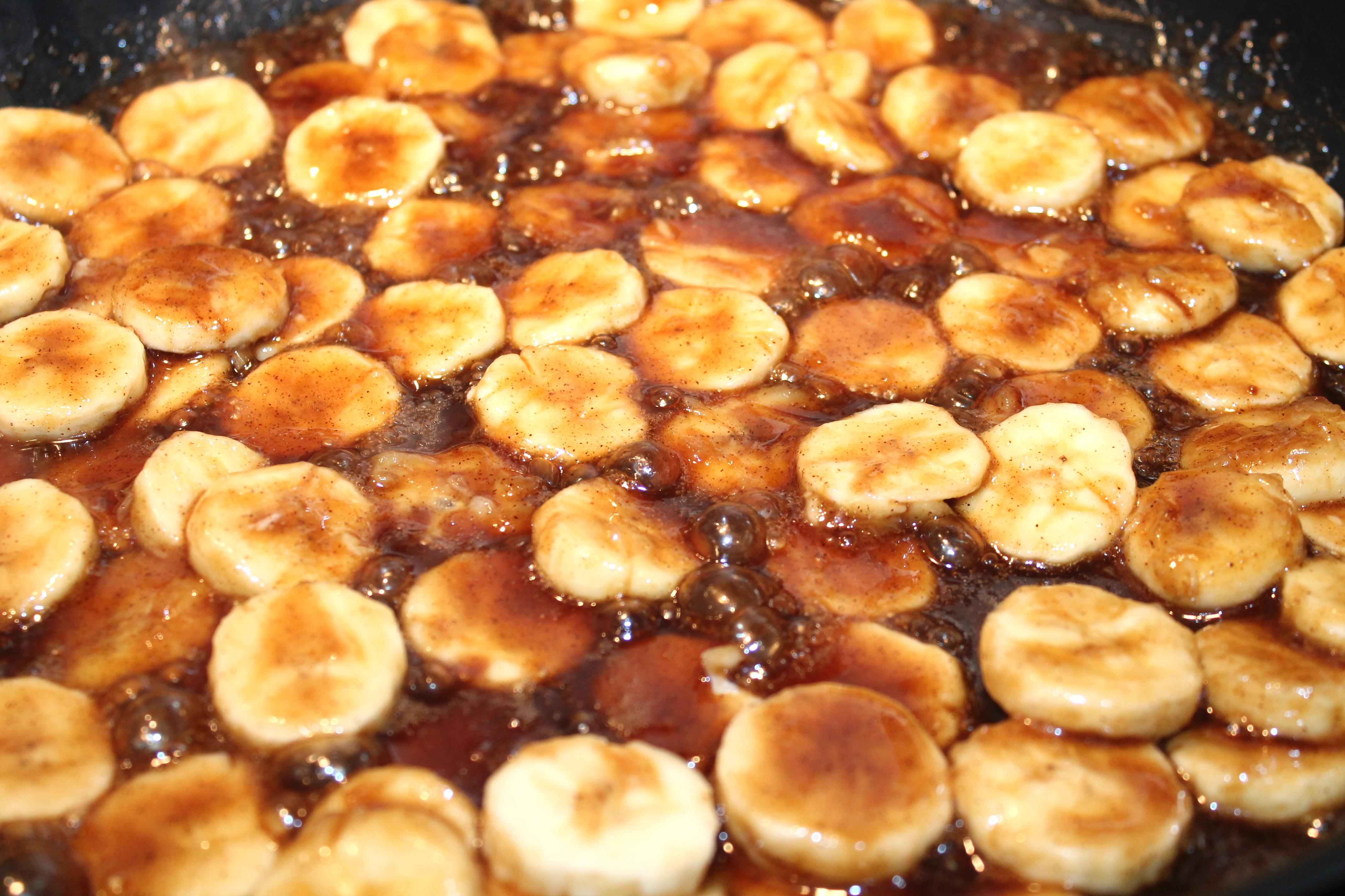 how to make deep fried bananas