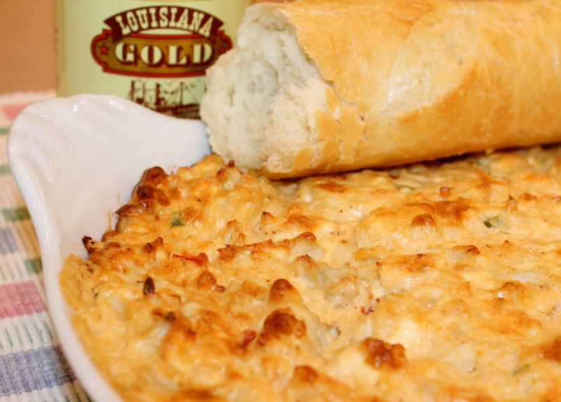 ... Louisiana Gold: The Ultimate Creamy Hot Crab Dip~ - Kitchen Encounters