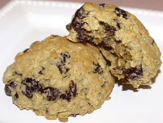 Oatmeal & Sour Cherry Cookies #1 (Intro Picture)