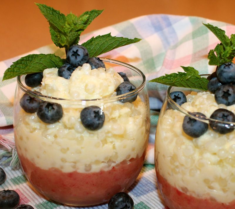 There's Fruit on the Bottom of My Tapioca Pudding~ - Kitchen ...