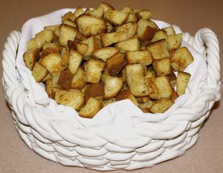 Croutons & Toasts #9 (Finished Croutons)