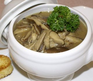 Shiitake Mushroom Soup #1 (Intro Picture)