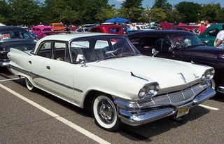 The First Muscle Car 1960 Dodge Dart White - Front Right View-1