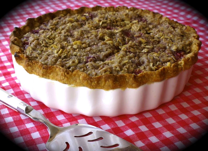 ... Lie, this is Real Sour-Cherry Streusel Pie ~ - Kitchen Encounters