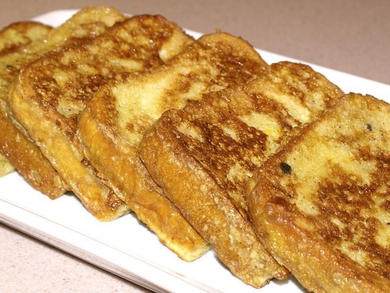 French Toast #9 (Just Toast, Finished Closeup)