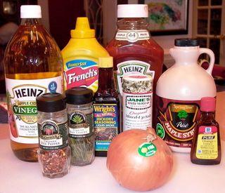 Pulled Pork #5 (Vinegar Sauce Ingredients)