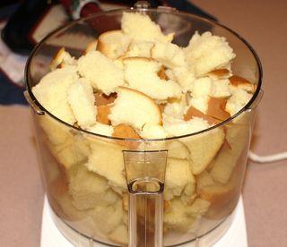 Tettie's Potato Stuffing #6 (Bread Pieces  in Cuisinart)
