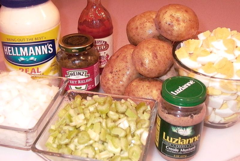 Potato Salad (Ingredients) #1