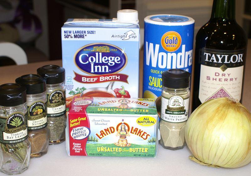 Shiitake Mushroom Soup #4 (Ingredients)