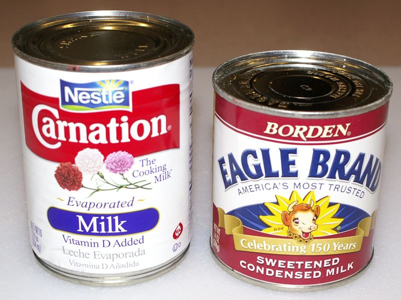 Evaporated Milk & Condensed Milk #1