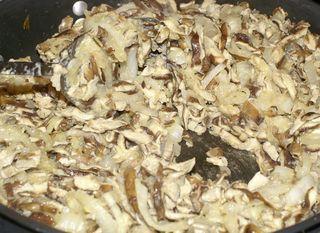 Shiitake Mushroom Soup #10 (Flour Added and Pan is Dry)