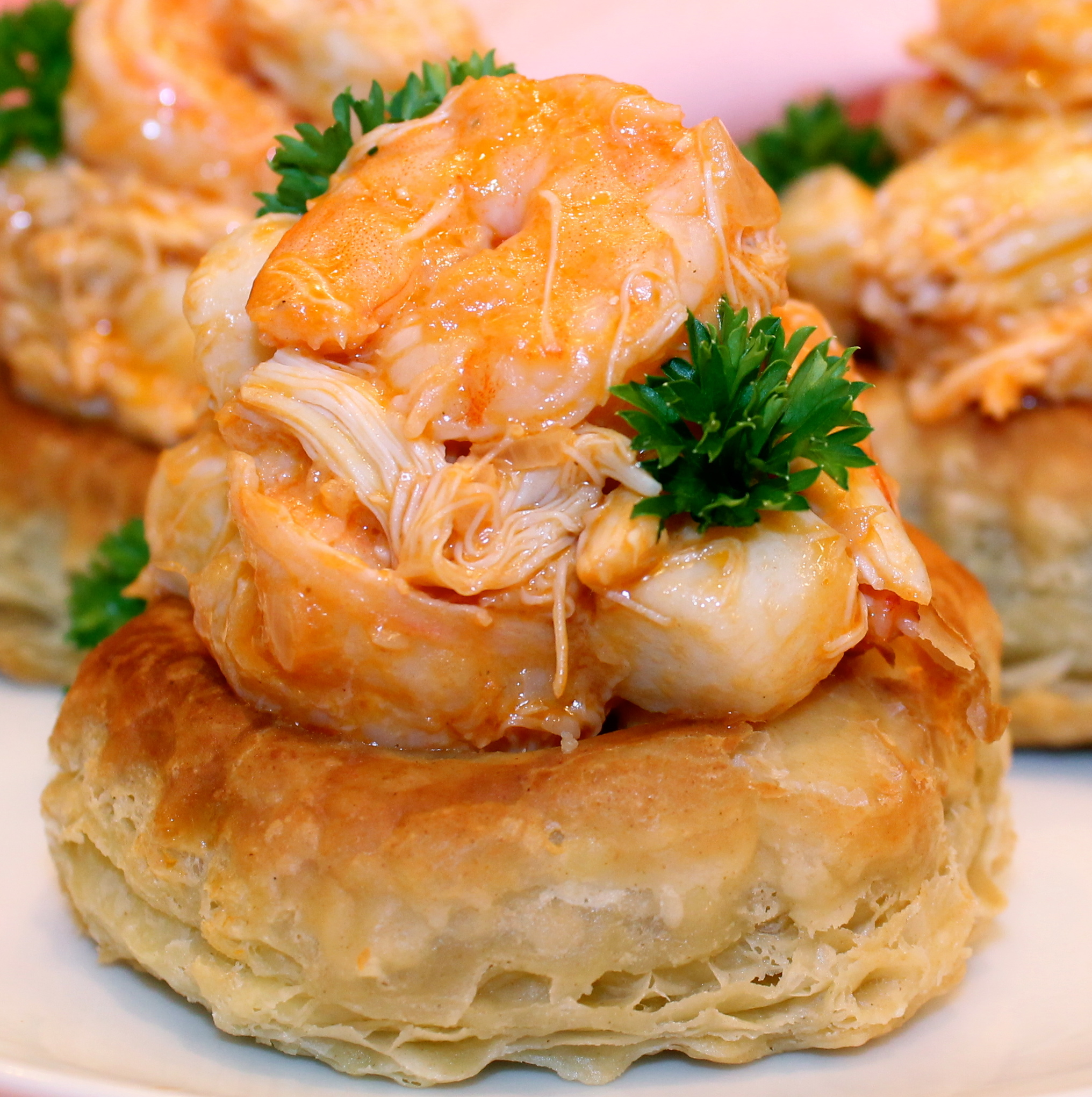 lobster newburg in puff pastry