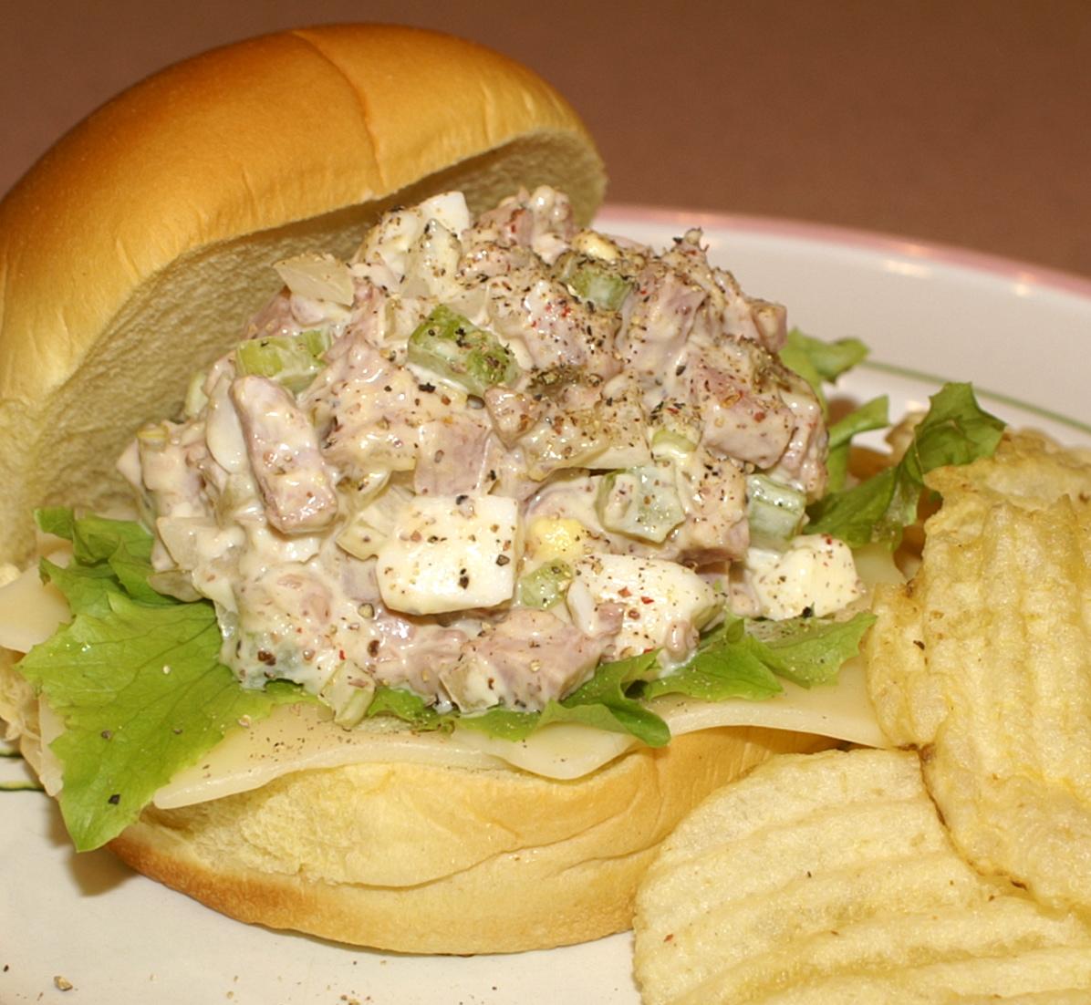 Leftover Ham Pass Me The Deviled Ham Salad Kitchen